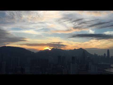 寶馬山日落 Sunset On Braemar Hill 28/11/2017