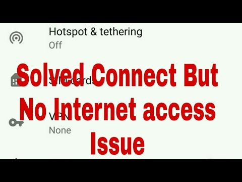 Fix Hotspot internet not working on moto and others