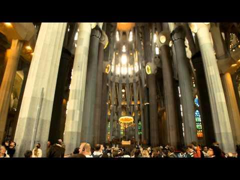 Sagrada Familia Famous church in Barcelona