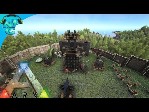 S4E25 - Raid on the Plateau - VIP Seats! ARK: Survival Evolved PVP Season