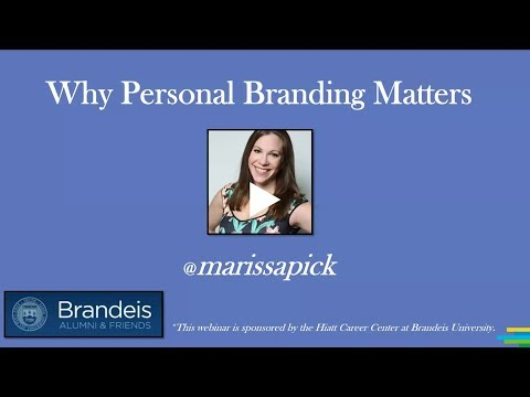 Why Personal Branding Matters