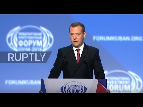 Russia: Medvedev vows to improve state efficiency at International Investment Forum