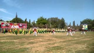Drumband MtsN empang 2015