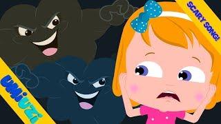 Umi Uzi | Thunder Lightning | Halloween Songs | Original Songs For kids