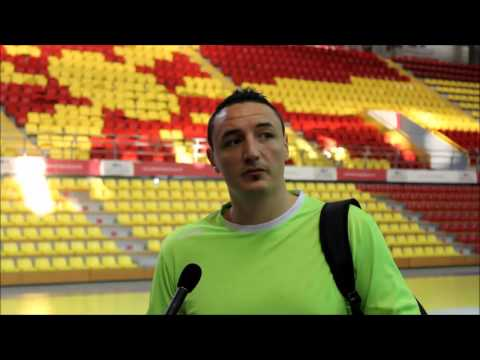 Борко Ристовски пред мечот со Португалија