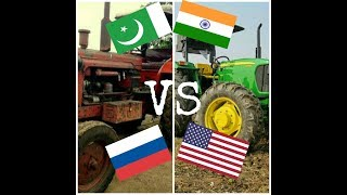 Bailaras 510 VS JOHN DEERE 5310 || INDIA VS PAKISTAN || RUSSIA VS AMERICA || TRACTOR TECHNOLOGY