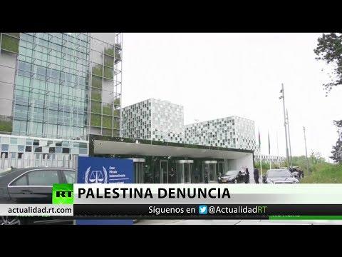 Palestina lleva las muertes de Gaza al Tribunal Penal Internacional