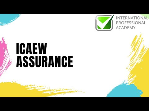 ICAEW Assurance: Chapter 1: Concept of and Need for Assurance