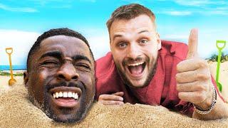I buried my best friend on a beach TGF