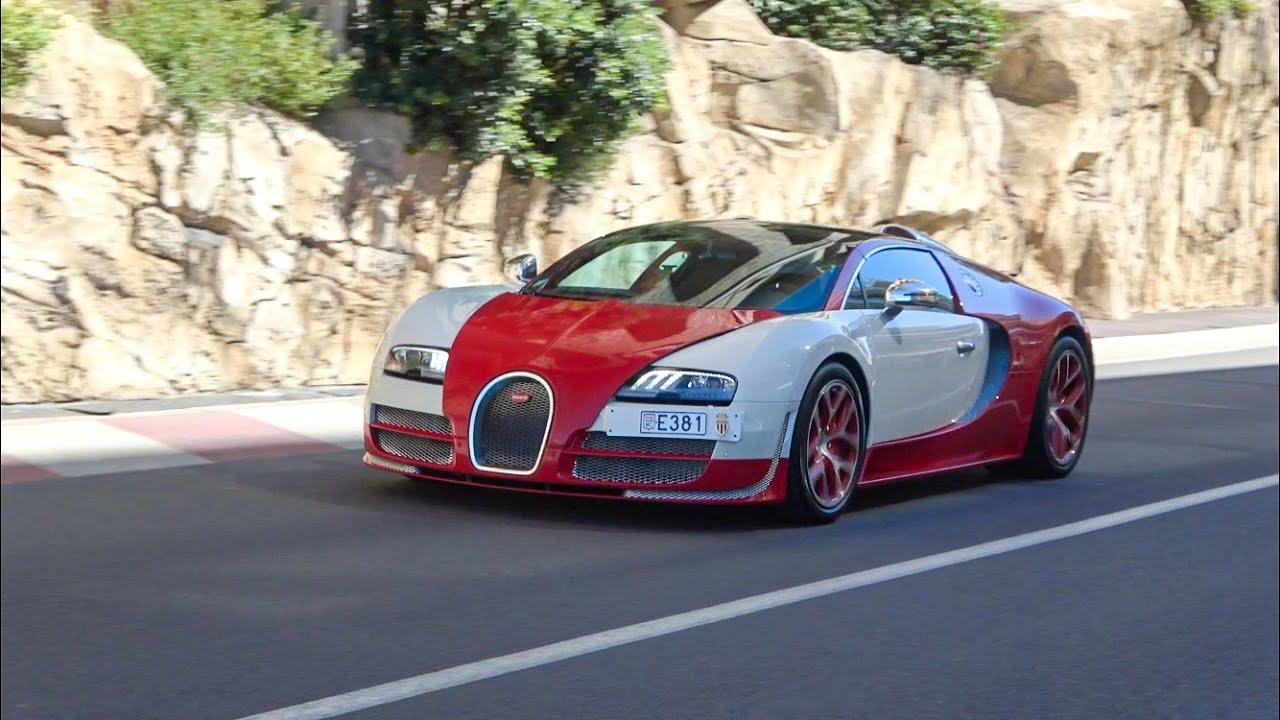 "€3Million Bugatti Veyron Vitesse ""Monaco Edition"" on the Road!"
