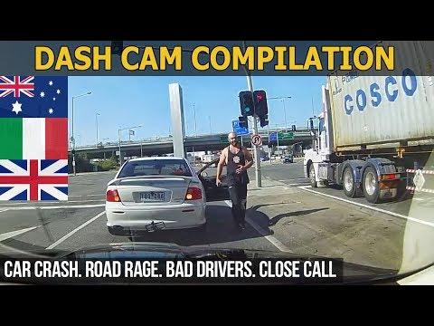 Dash Cam Compilation (Australia, Italy, United Kingdom) 2018 - 2017