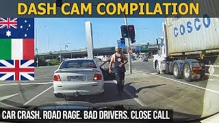 Dash Cam Compilation (Australia, Italy, United Kingdom) 2018 - 2017 16