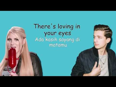 Marvin Gaye  Charlie Puth ft  Meghan Trainor Lirik Terjemah Indonesia