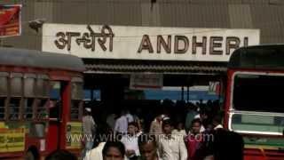 Andheri-Busy Mumbai station