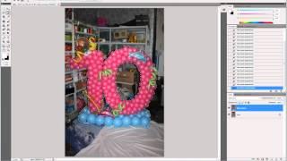 Замена фона на тематический в Adobe Photoshop CS5