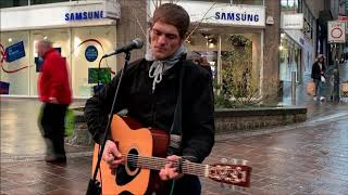 """BRADFORD BUSKER (Frankie Porter) Sings """"A Spaceman Came Travelling"""""""