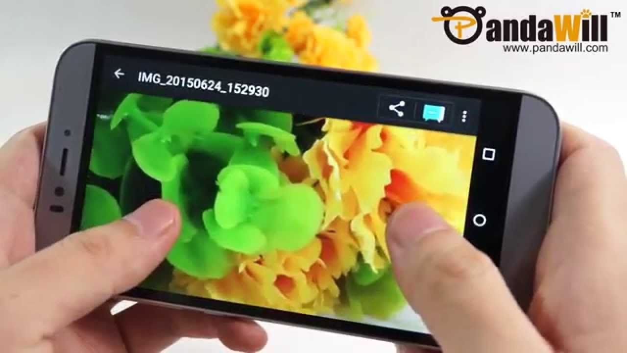 UMI IRON Smartphone with 64bit MTK6753 3GB Android 5 1 OS - Hands On