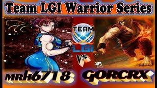 Team LGI Warriors Series : mrh6718 vs gorcrx - Exclusive FT5