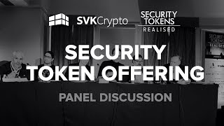 Security Token Offering Panel - SVK Crypto, SGH Capital, Deloitte, Cointelligence, MINT, bardicredit
