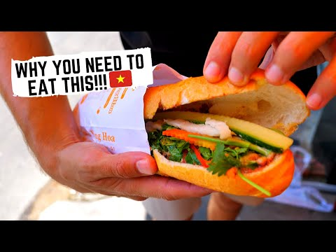Vietnam's WORLD FAMOUS Sandwich And Why You Need THIS ONE In Your Life! Saigon Street Food Tour