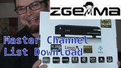 Kodi media player on Zgemma H7 FTA Receiver