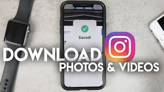 Gambar cover How to Download Instagram Photos and Videos on iPhone