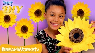 DIY Giant Sunflower | SPIRIT DIY