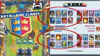 MAZO PARA GANAR FACIL BATALLAS DE CLANES 2vs2/ Clash Royale