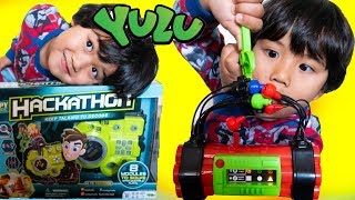 YULU Toys Cut the Wire and Hackathon Spy Game Toy Review Family Fun Game Night