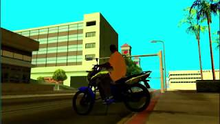 GTA MODS: SKIN DA COPA E A MOTO .PESADOOO