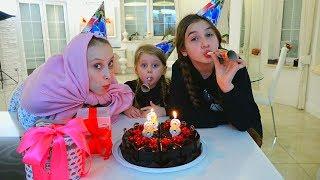 День Рождения Капы! Дана и Диана сделали неожиданный сюрприз