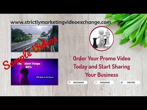 Strictly Marketing Video Exchange