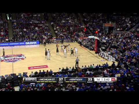 #1 Kentucky vs #2 Michigan State 11-12-13 (Full Game)