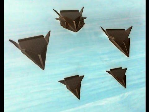DIY: How to Make Paper Space Fleet