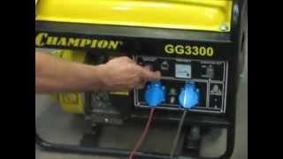 Бензиновый генератор.(За долбали отключать свет,пришлось купить генератор,пока доволен работой генератора,можно взять в дорогу..., 2013-07-06T22:00:46.000Z)