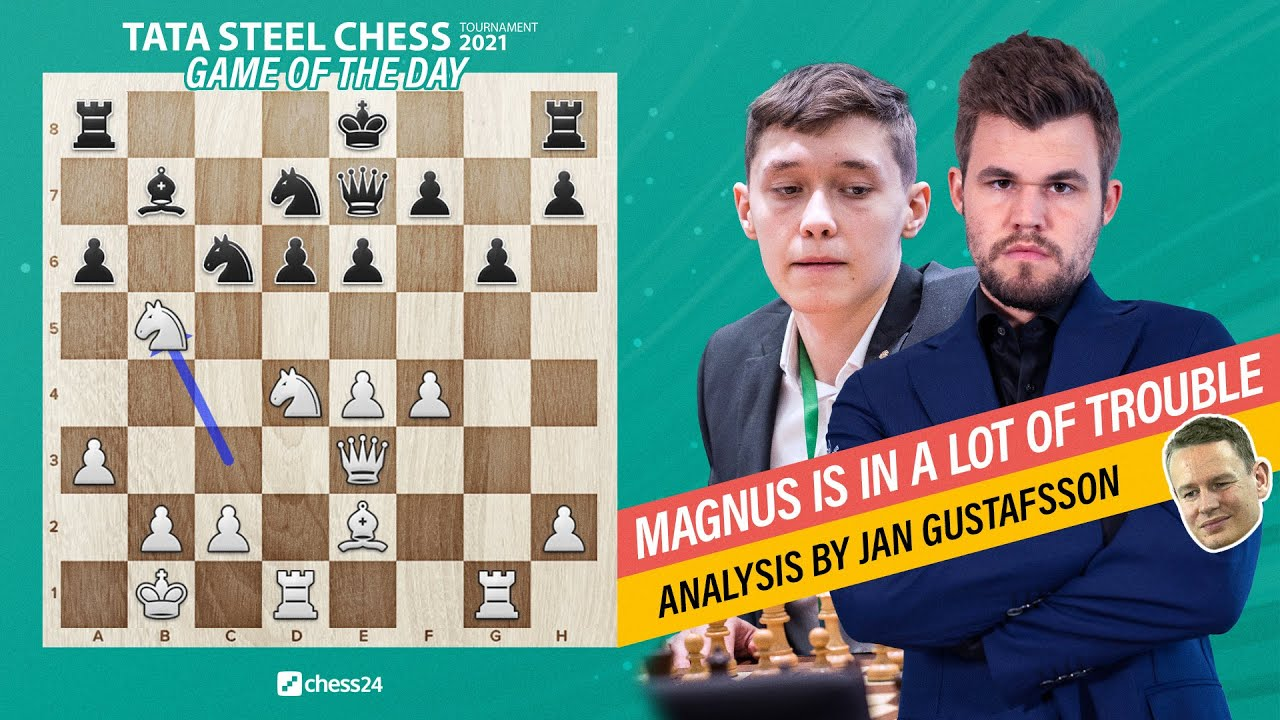 Download Russian teenager beats World Chess Champion!   Esipenko - Carlsen, Wijk 2021