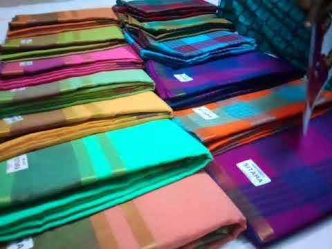 Sitara cotton two sarees RS 620 only in Madurai 📳 9047628312 no cod