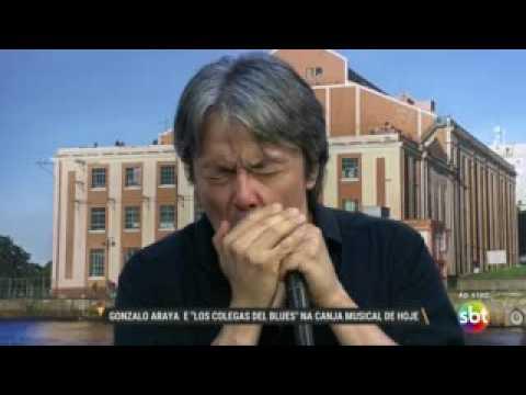 "Gonzalo Araya E ""Los Colegas Del Blues"" Na Canja Musical"