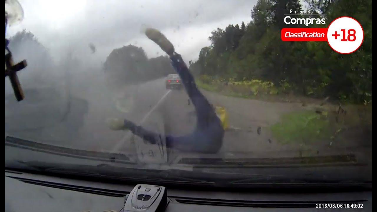 Accidente automovilístico termina en tragedia por imprudencia al volante (VIDEO +18)