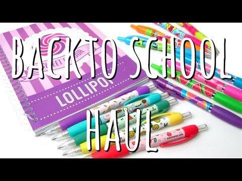BACK TO SCHOOL HAUL   GIVEAWAY