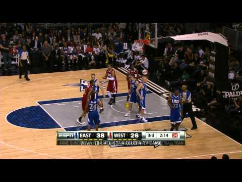 NBA All Star Celebrity Game highlights