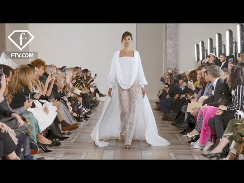 Georges Chakra presented his Spring 2020 couture collection at Paris' Petit Palace | FashionTV | FTV