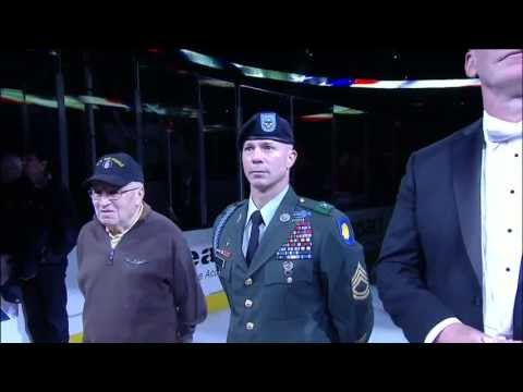 Jim Cornelison sings National Anthem May 29 2013 Detroit Red Wings vs Chicago Blackhawks NHL Hockey