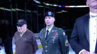 Jim Cornelison sings National Anthem May 29 2013 Detroit Red Wings vs Chicago Blackhawks NHL Hockey