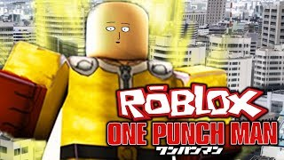 ONE PUNCH IS ALL I NEED + NEW CODES! | Heroes Legacy | EP 1 (Roblox One Punch Man Roleplay)