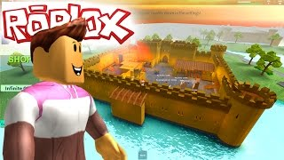 ROBLOX TYCOON - THE CASTLE OF THE DRAGON! -Spanish Gameplay