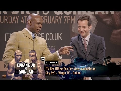 Eubank Jr vs Quinlan - OFFICIAL ITV Sport Press Conference