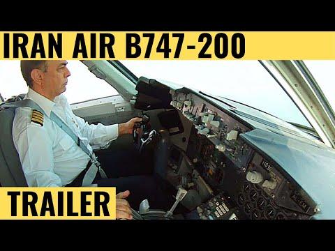 Iran Air B747-200 Trailer