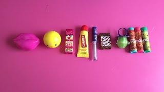 Top 10 LEAST Favorite Lip Balm!
