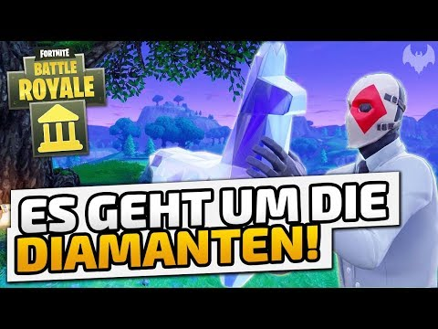 Es geht um die Diamanten! - ♠ Fortnite Battle Royale: High Stakes ♠ - Deutsch German